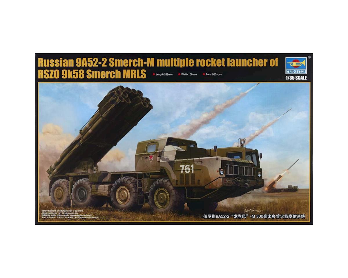 Trumpeter Scale Models 1020 1/35 9A52-2 Smerch-M Rocket Launcher
