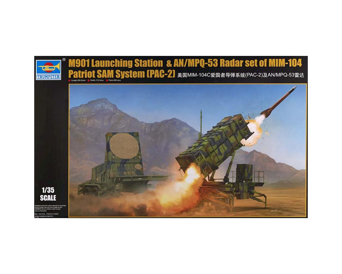 Trumpeter Scale Models 1022 1/35 M901 Patriot Surface-to-Air Missile Launch