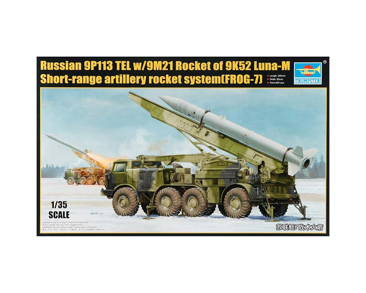 Trumpeter Scale Models 1/35 Russian 9P113 TEL Launcher w/9M21 Rocket