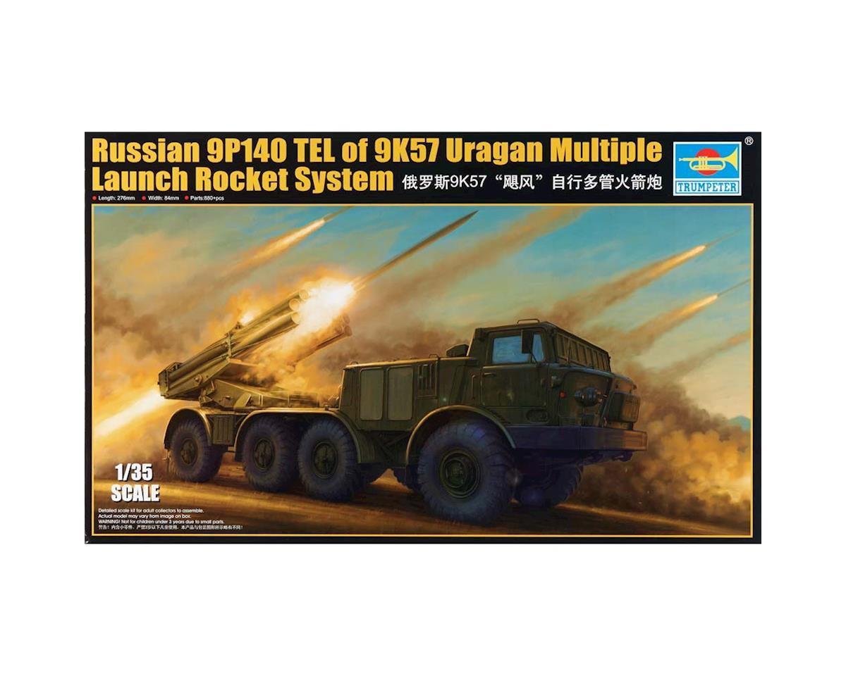 Trumpeter Scale Models 1026 1/35 Russian 9P140 TEL of 9K57 Uragan Rocket Syste