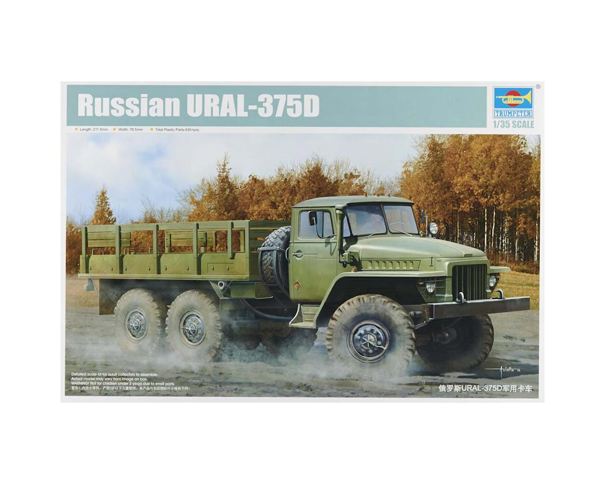 1027 1/35 Russian URAL-375D Truck by Trumpeter Scale Models