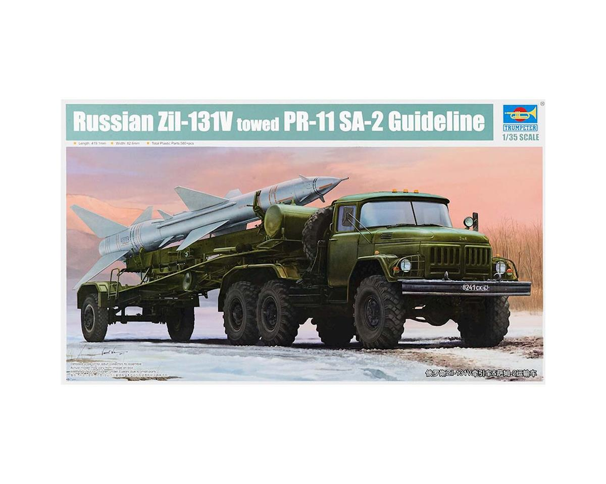 Trumpeter Scale Models 1033 1/35 Russ Zil31V Truck w/PR11 SA2 Guideline Missle