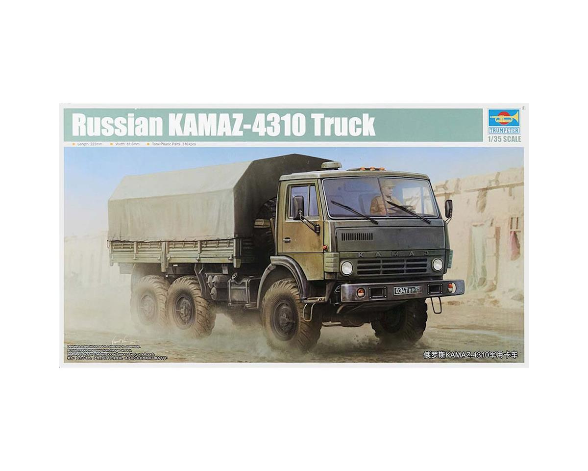 Trumpeter Scale Models 1/35 Russian KAMAZ 4310 Truck