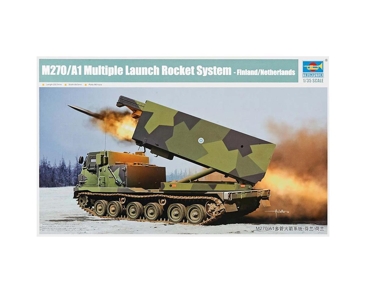1/35 Finland/Netherlands M270/A1 Rocket System by Trumpeter Scale Models