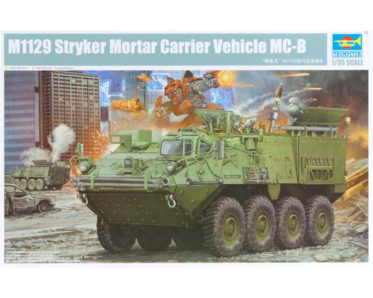 Trumpeter Scale Models 1512 1/35 M1129 Stryker Mortar Carrier w/120mm Mortar