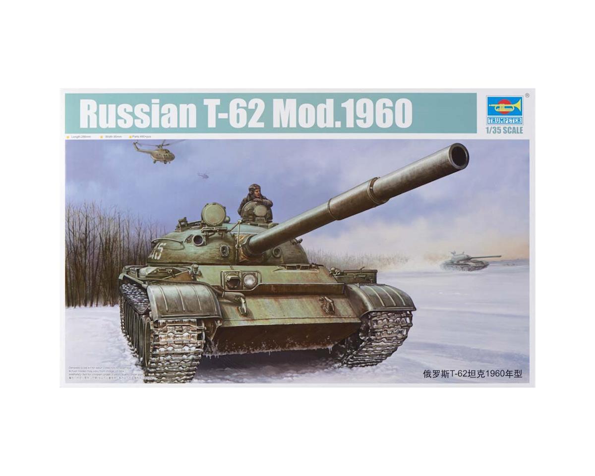 Trumpeter Scale Models 1546 1/35 Russian T62 Mod 1960 Tank