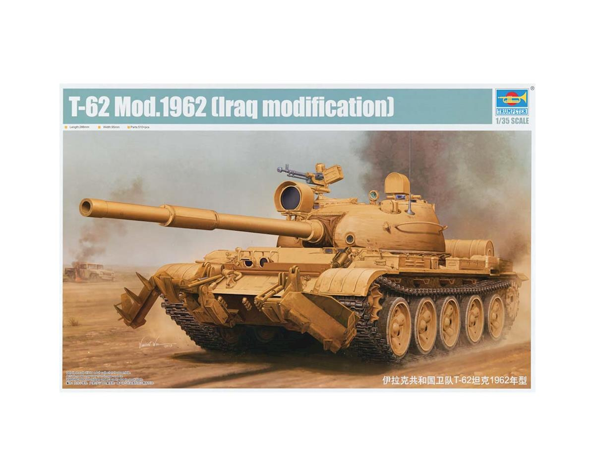 1/35 T62 Mod 1960 Iraq Tank by Trumpeter Scale Models