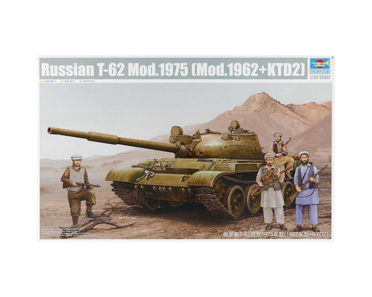 1551 1/35 Russian T62 Mod 1975 (Mod 1962+KTD2) Tank by Trumpeter Scale Models