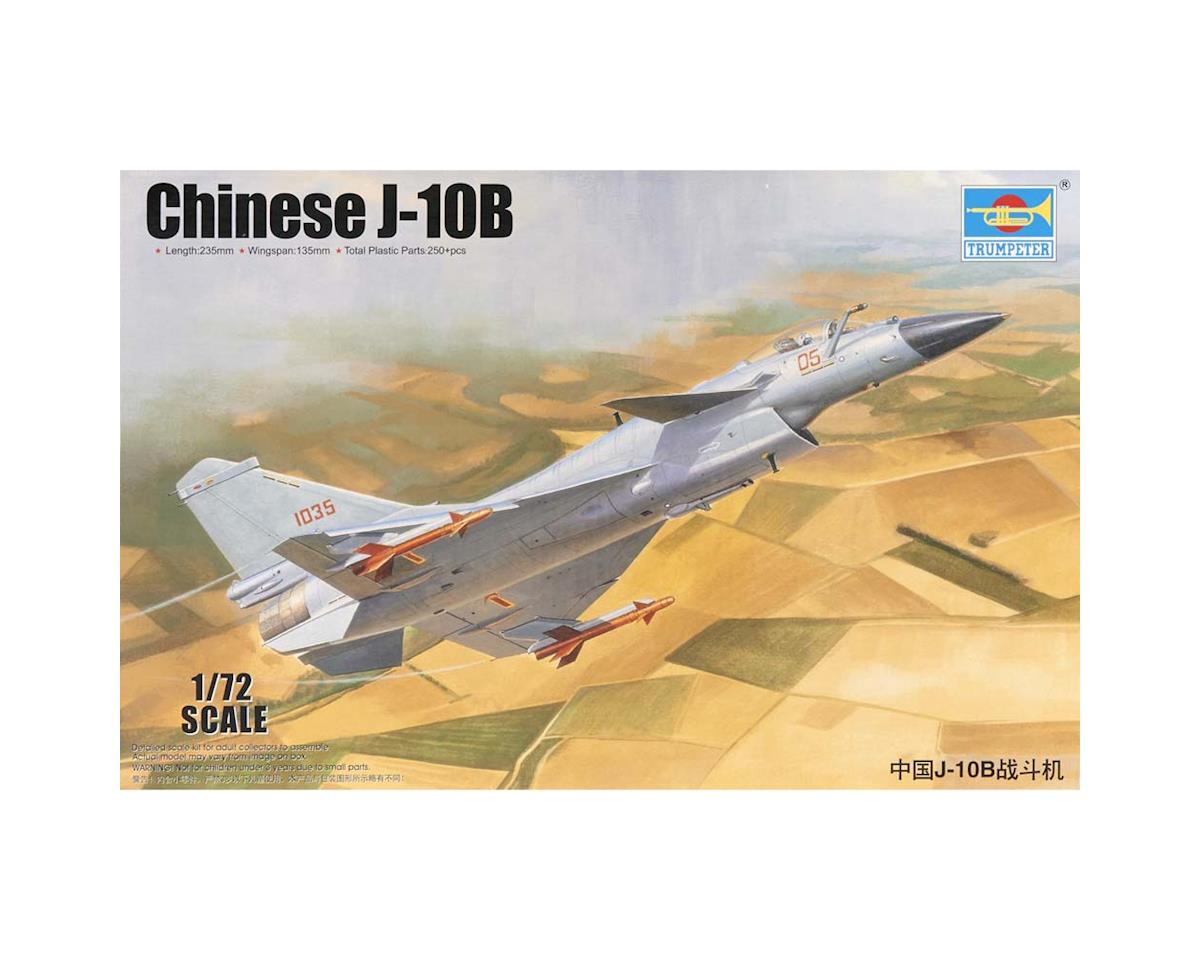 1651 1/72 Chinese J10B Fighter by Trumpeter Scale Models