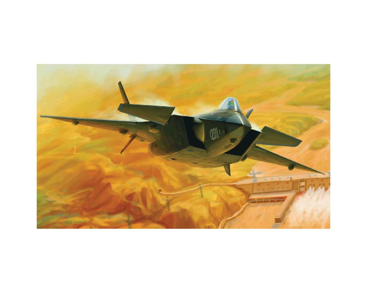 1/72 Chinese J-20 Mighty Dragon 2011 Fighter by Trumpeter Scale Models