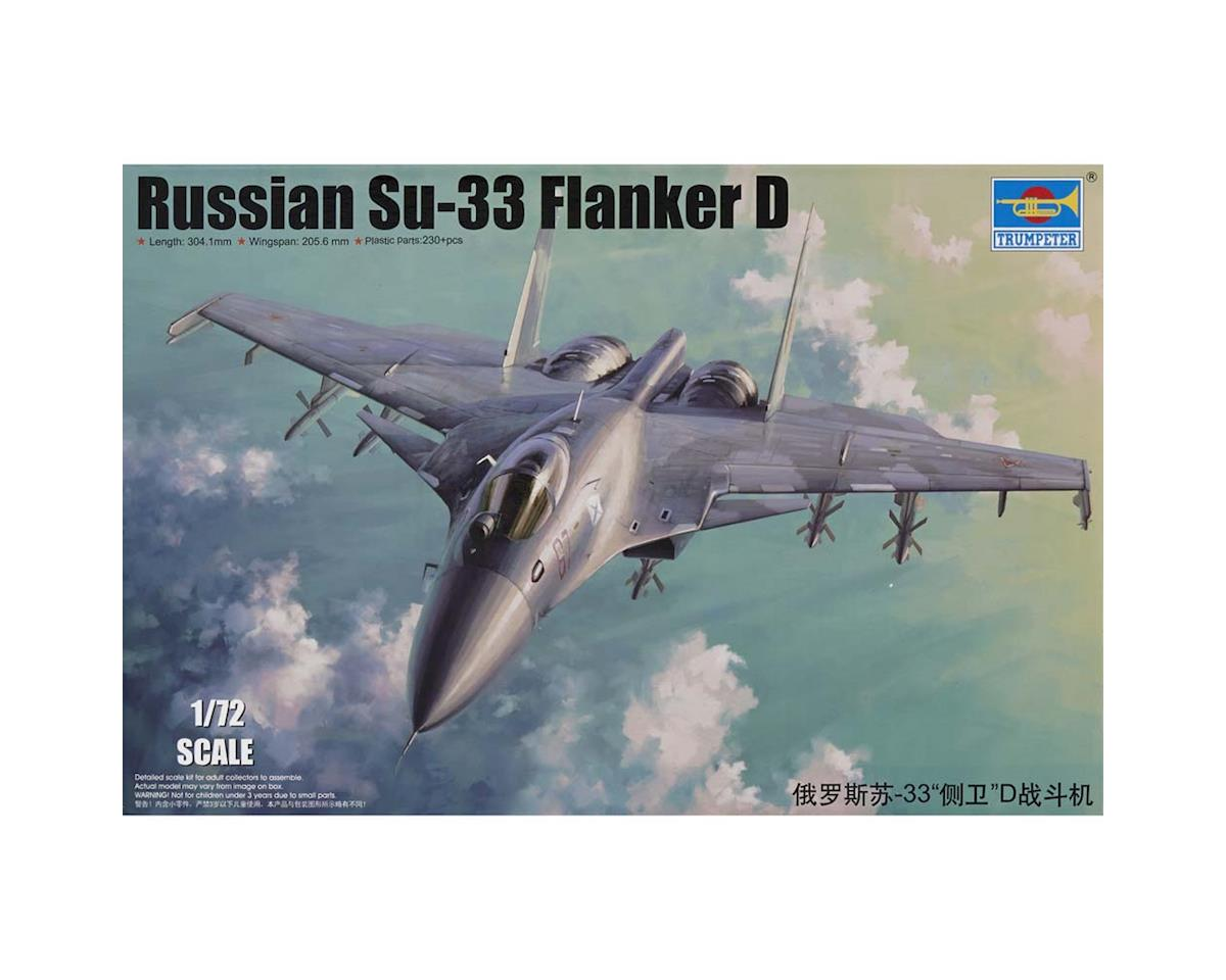 Trumpeter Scale Models 1667 1/72 Sukhoi Su-33 Flanker-D Russian Fighter