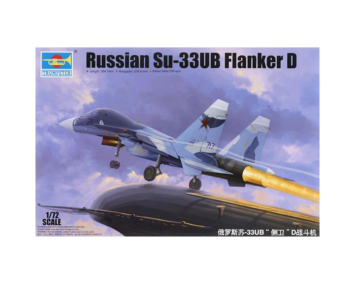 1/72 Sukhoi Su-33Ub Flanker D Russnfghtr