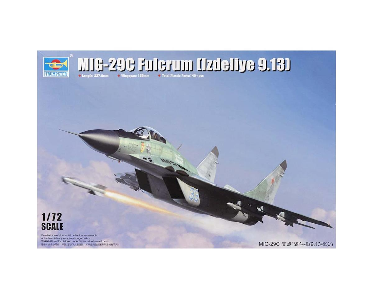 Trumpeter Scale Models 1/72 Mig-29C Fulcrum Product 9.13 Russian Fighter