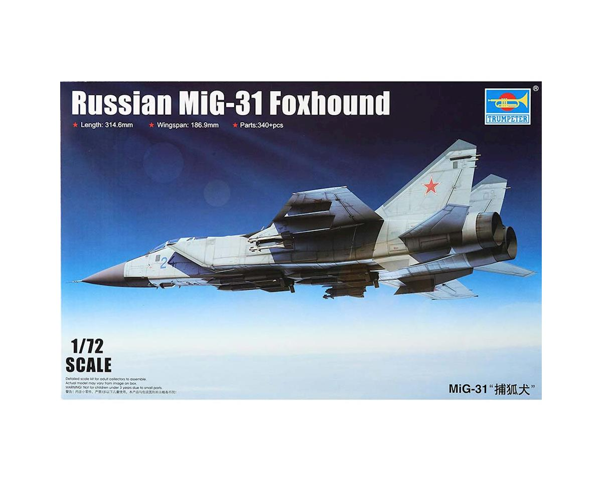 Trumpeter Scale Models 1/72 MiG31 Foxhound Russian Aircraft