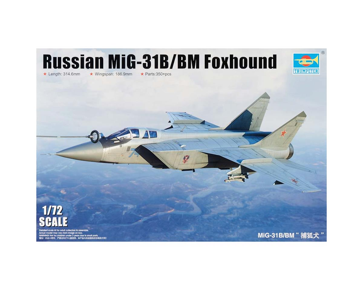 Trumpeter Scale Models 1680 1/72 MiG31B/BM Foxhound Russian Fighter