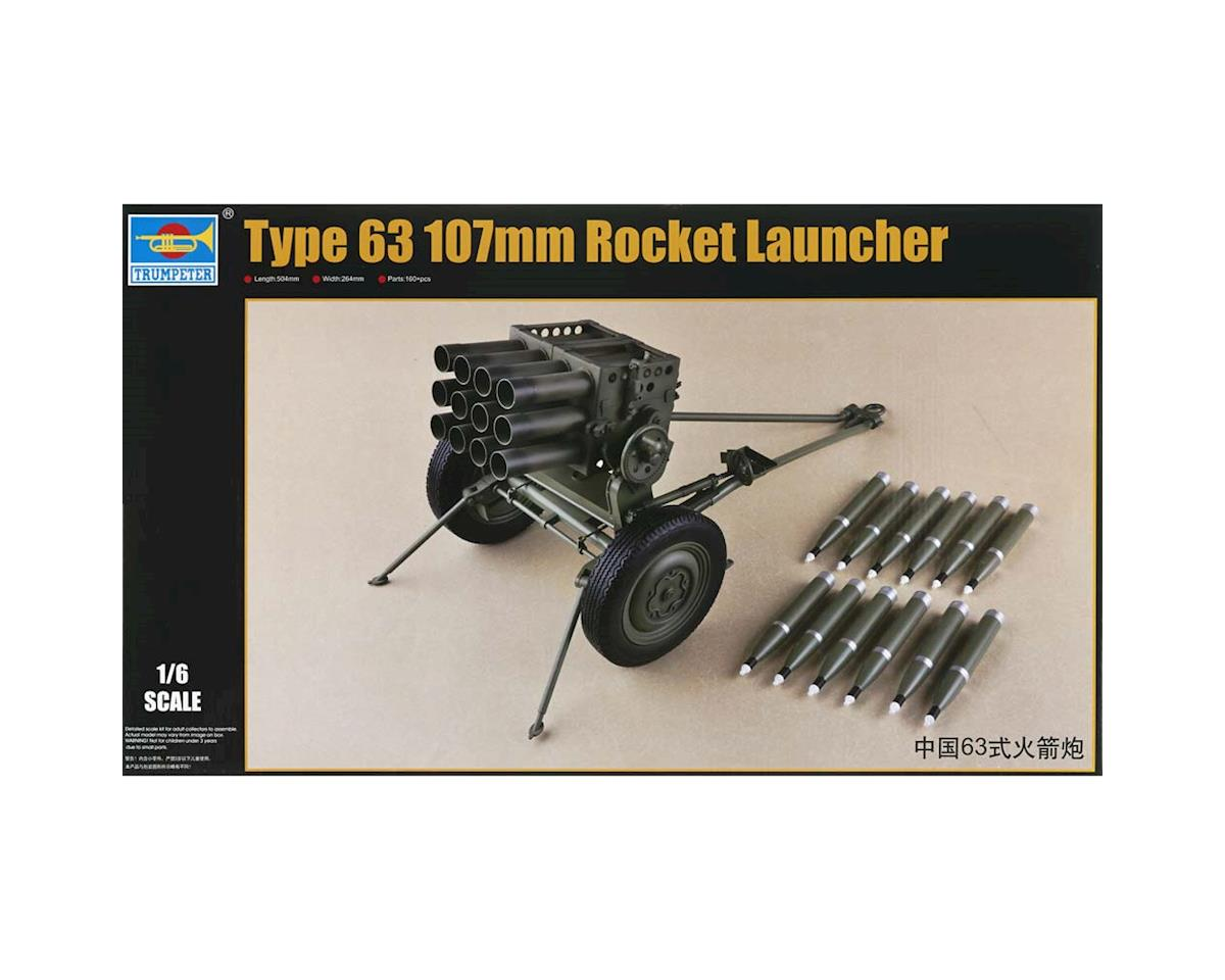 Trumpeter Scale Models 1920 1/6 PLA Chinese Type 63 107mm Rocket Launcher