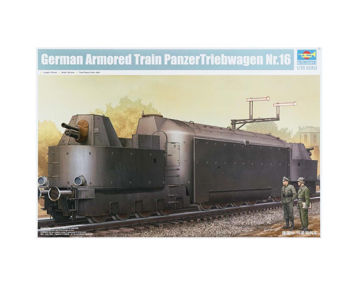 Trumpeter Scale Models 223 1/35 German Armored Train Panzertriebwagen Nr.16