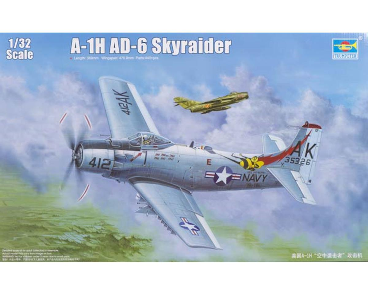 Trumpeter Scale Models 2253 1/32 A-1H AD6 Skyraider Aircraft