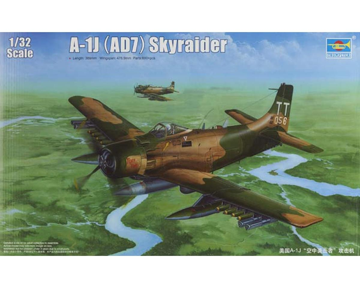 Trumpeter Scale Models 2254 1/32 A1J AD7 Skyraider Aircraft
