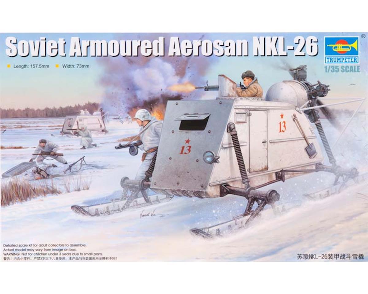 Trumpeter Scale Models 2321 1/35 Soviet NKL-26 Armored Aerosan