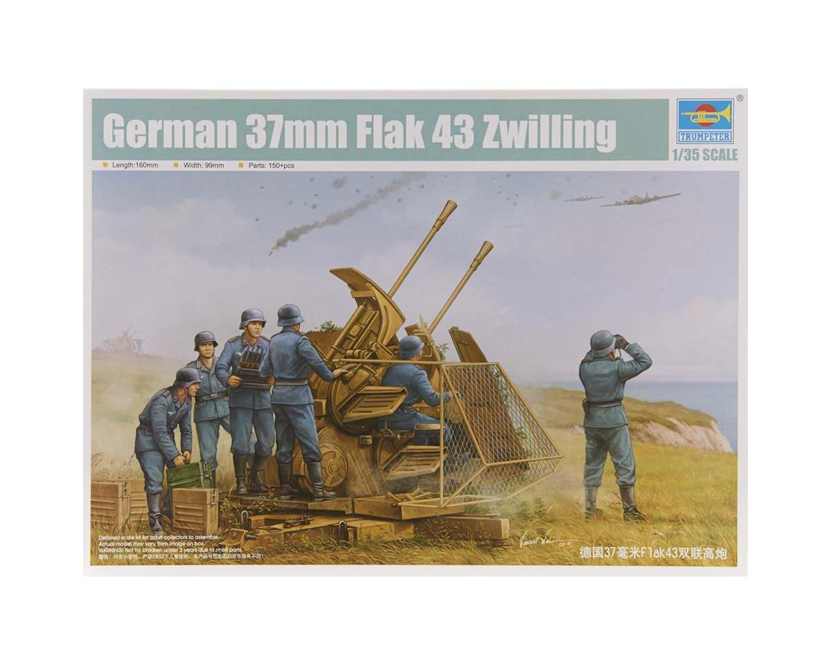 2347 1/35 German 37mm Flak 43 Zwilling Gun by Trumpeter Scale Models