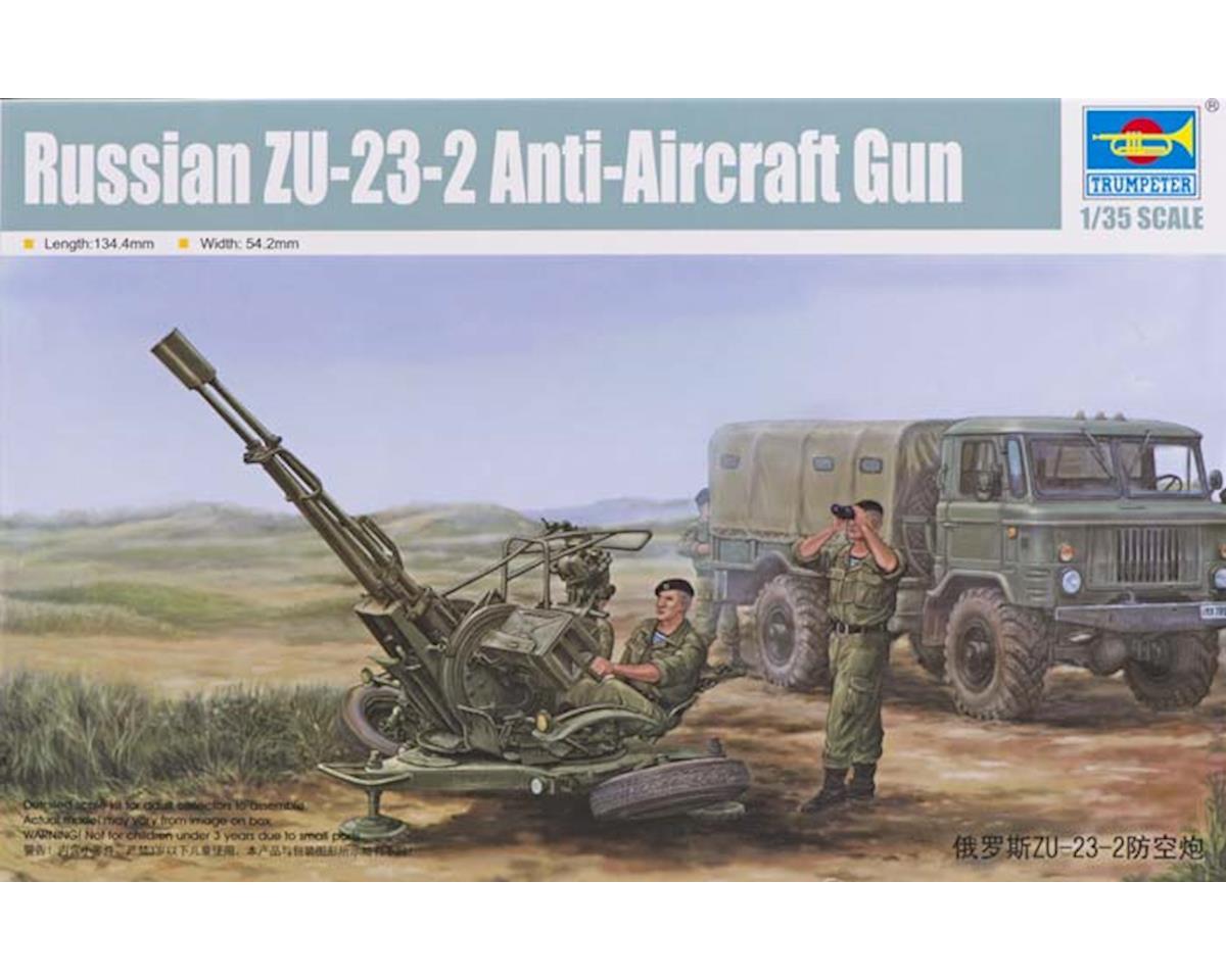 2348 1/35 Russian ZU-23-2 Anti-Aircraft Gun by Trumpeter Scale Models