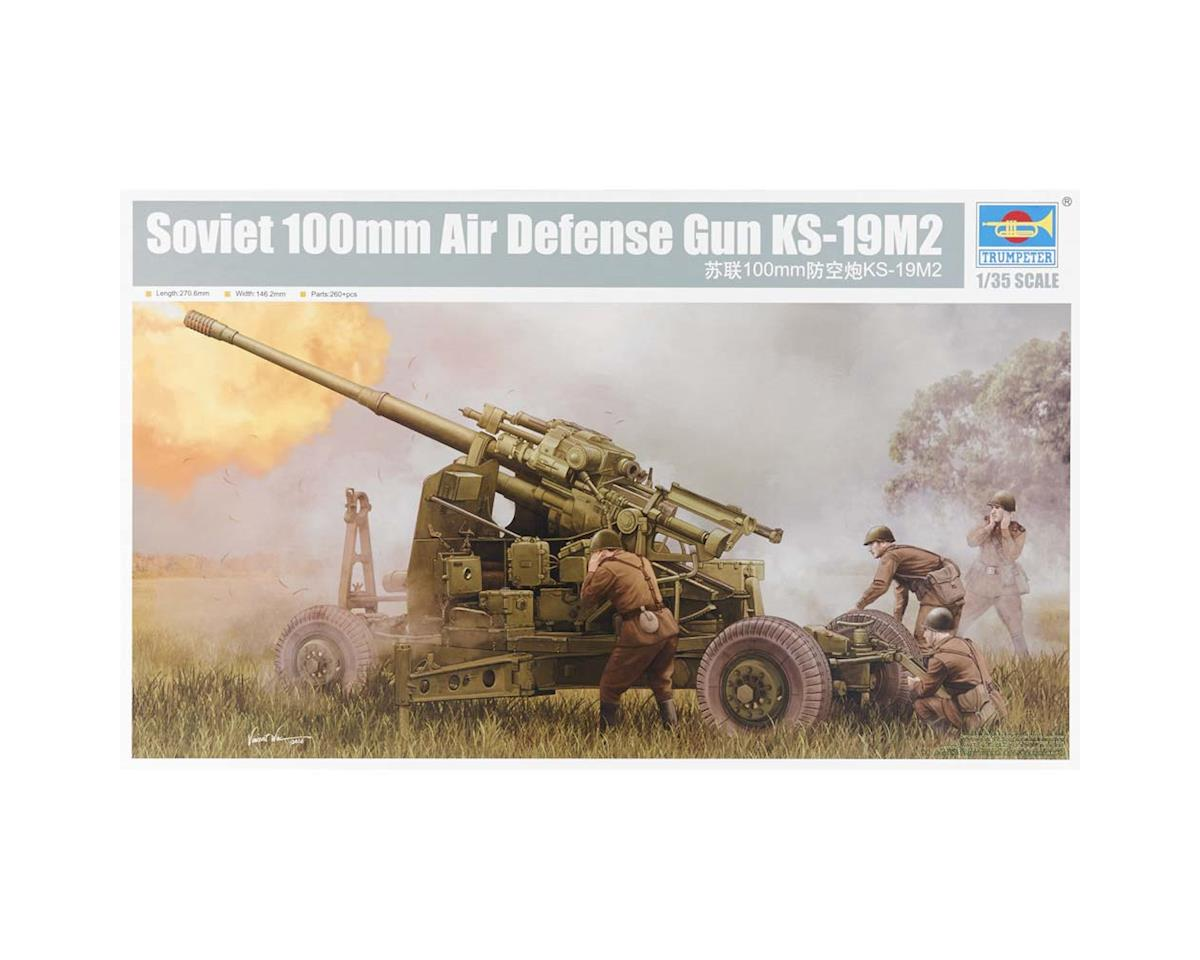 Trumpeter Scale Models 1/35 Soviet KS-19M2 100mm Air Defense Gun