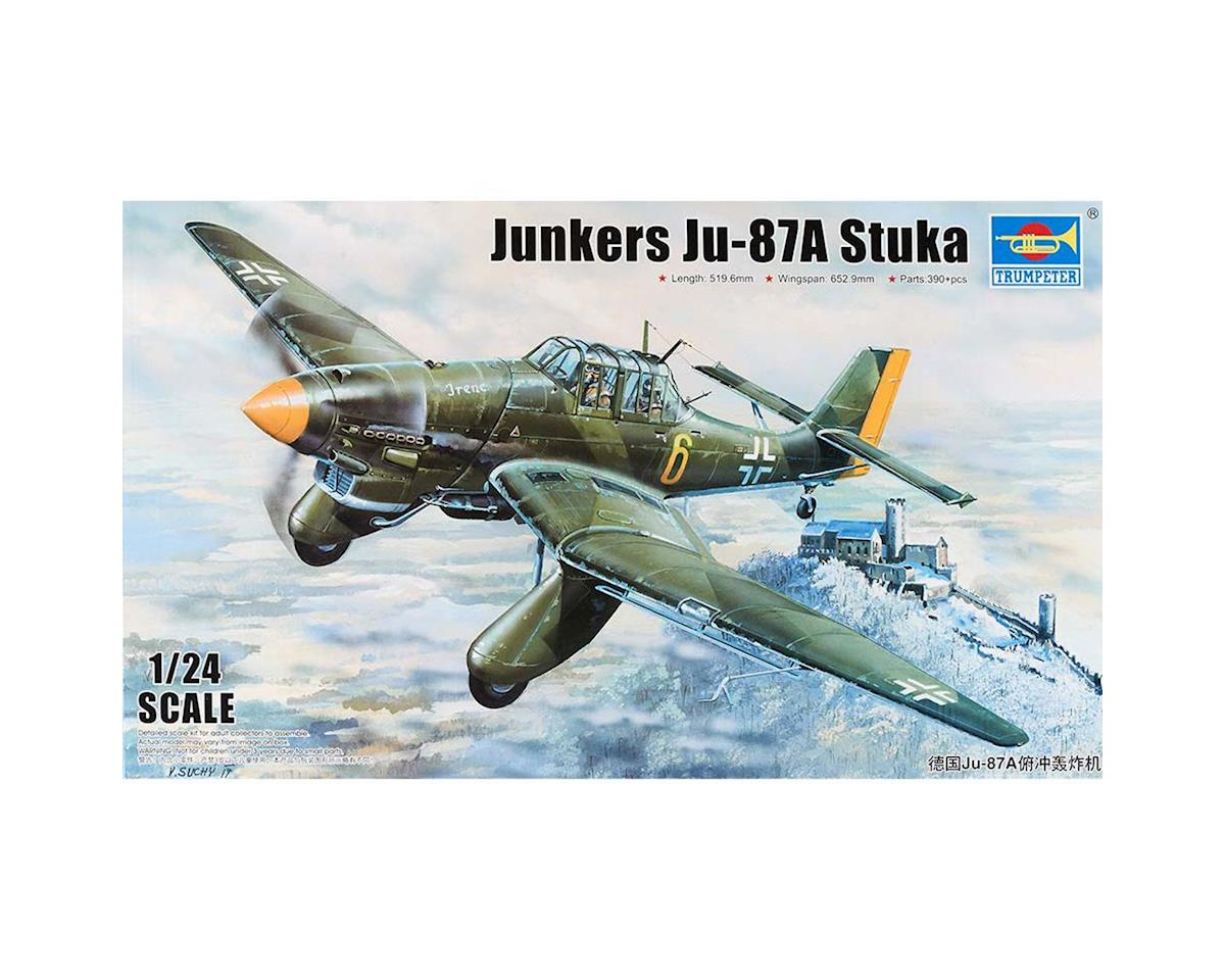 2420 1/24 Junkers Ju87A Stuka German Dive Bomber by Trumpeter Scale Models