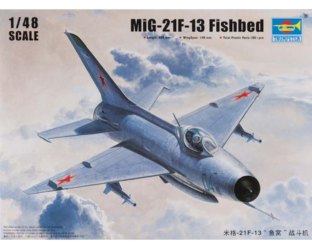 Trumpeter Scale Models 2858 1/48 Mig-21/F-13/J-7 Fighter