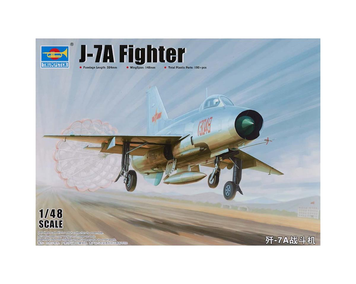 Trumpeter Scale Models 1/48 J7A Chinese Fighter