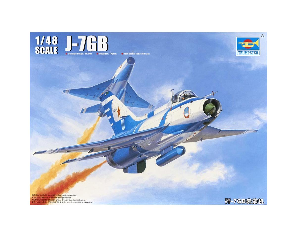 Trumpeter Scale Models 1/48 J-7Gb Chinese Fighter