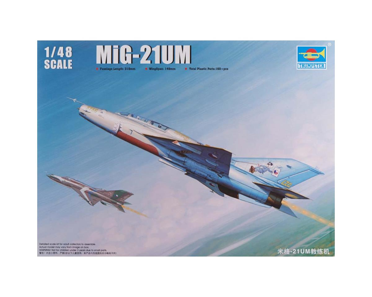 Trumpeter Scale Models 2865 1/48 Mig-21UM Russian Fighter