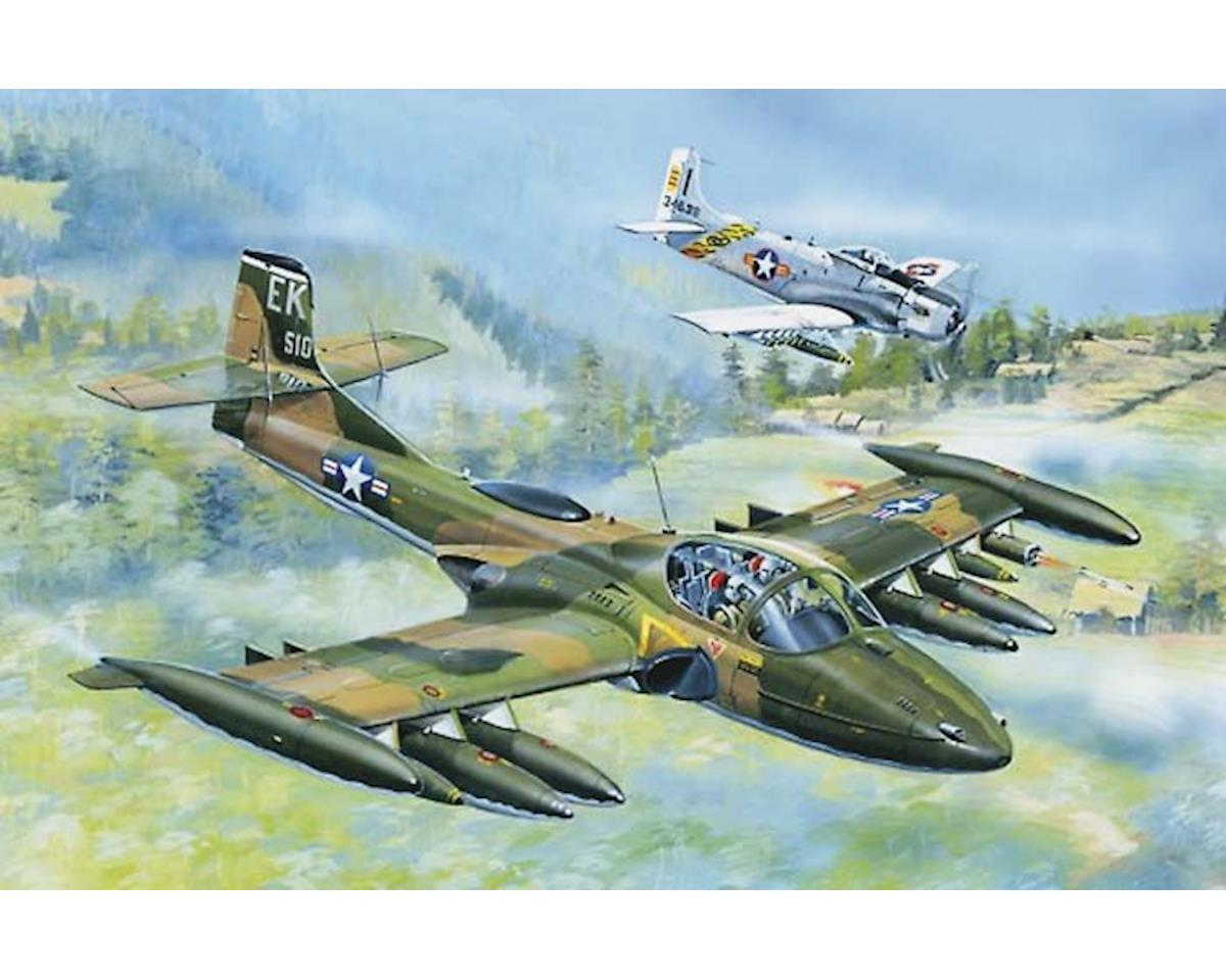 Trumpeter Scale Models 2888 1/48 US A-37A Dragonfly Light Grnd Attk Aircraft