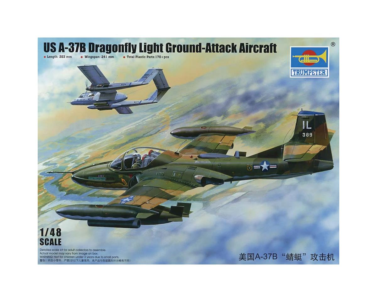 Trumpeter Scale Models 2889 1/48 US A-37B Dragonfly Lght Grnd Attck Aircraft