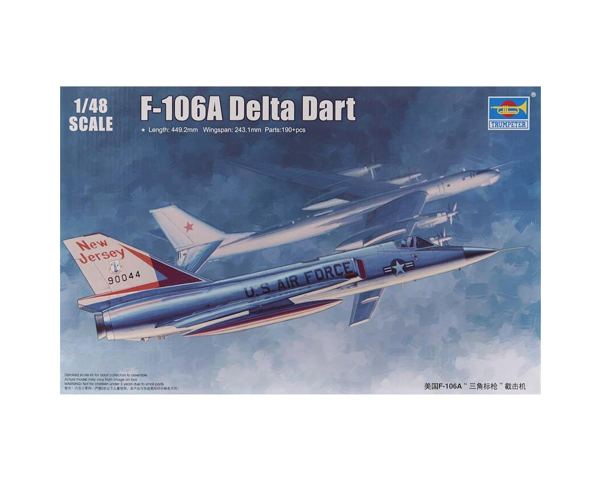 2891 1/48 US F-106A Delta Dart Aircraft by Trumpeter Scale Models
