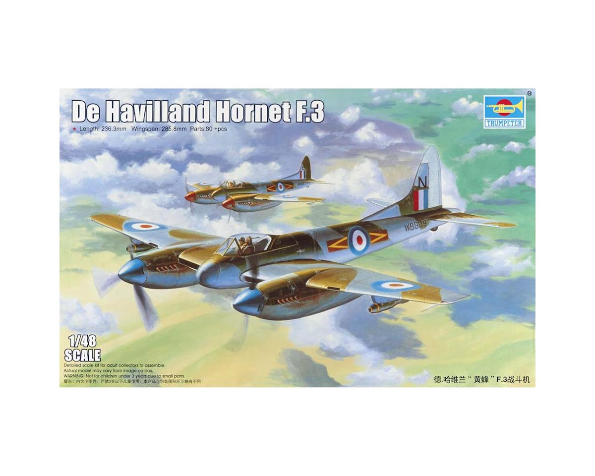 Trumpeter Scale Models 2894 1/48 DeHavilland Hornet F.3 Fighter