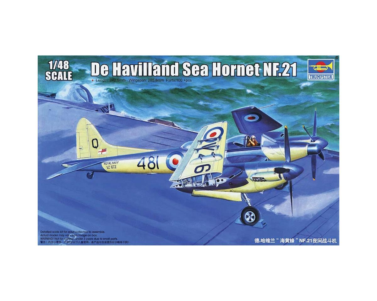 Trumpeter Scale Models 1/48 De Haviland Sea Hornet Nf21 Fighter