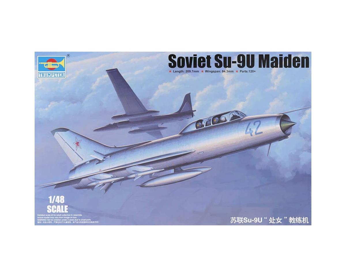 1/48 Soviet Su-9U Maiden Aircraft by Trumpeter Scale Models