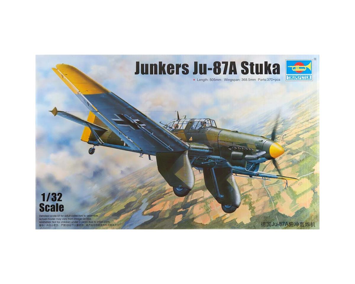 3213 1/32 Junkers JU-87A Stuka German Dive Bomber by Trumpeter Scale Models