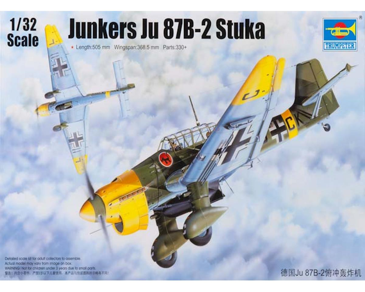 Trumpeter Scale Models 3214 1/32 Junkers Ju-87B-2 Stuka Ground Attack Aircraft