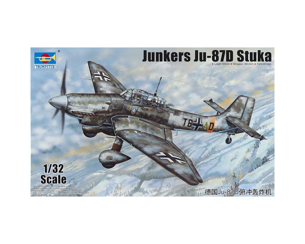 Trumpeter Scale Models 3217 1/32 Junkers Ju-87D Stuka German Aircraft