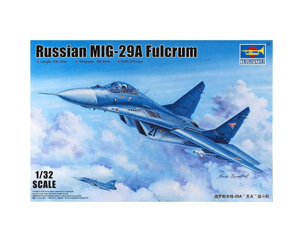 1/32 MiG-29A Fulcrum Russian Fighter by Trumpeter Scale Models