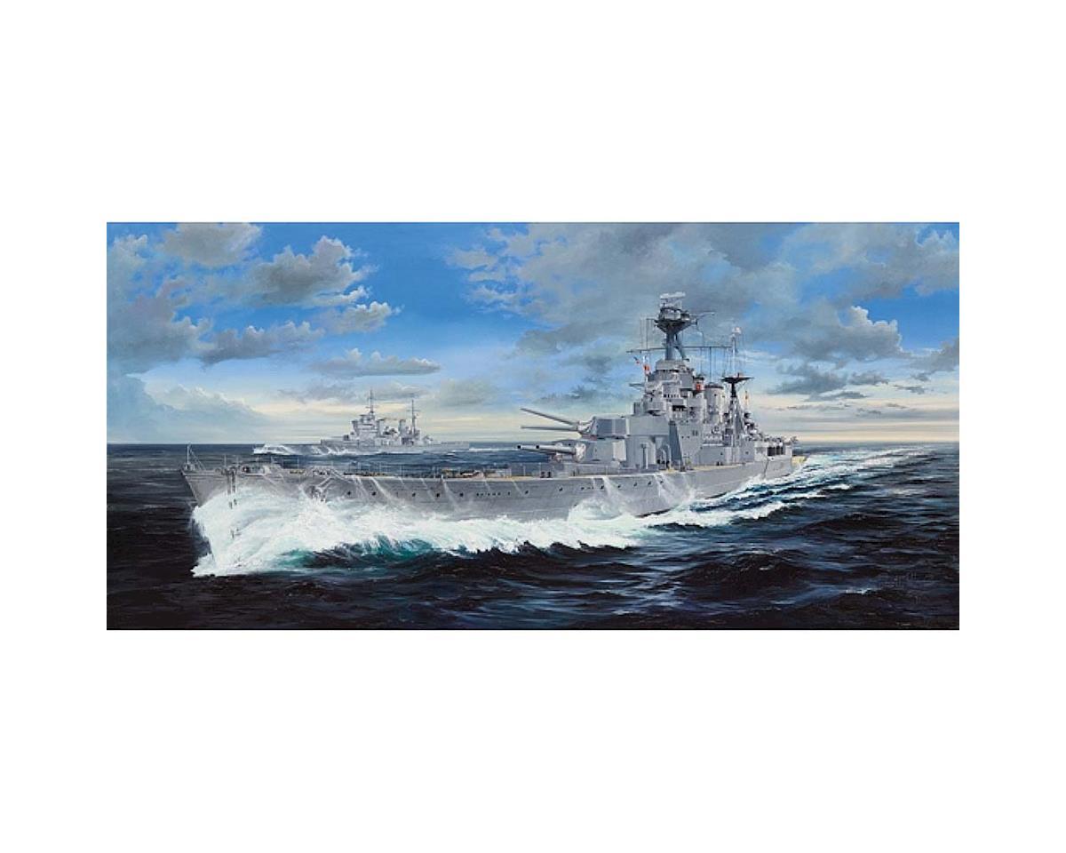 Trumpeter Scale Models 3710 1/200 HMS Hood British Battleship