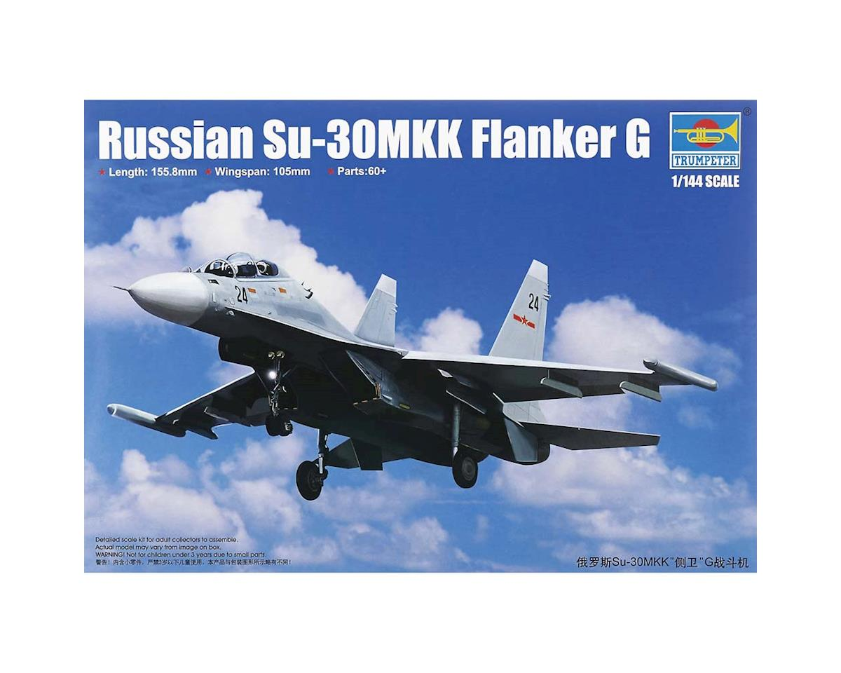 3917 1/144 Russian Su-30MK Flanker G Fighter by Trumpeter Scale Models