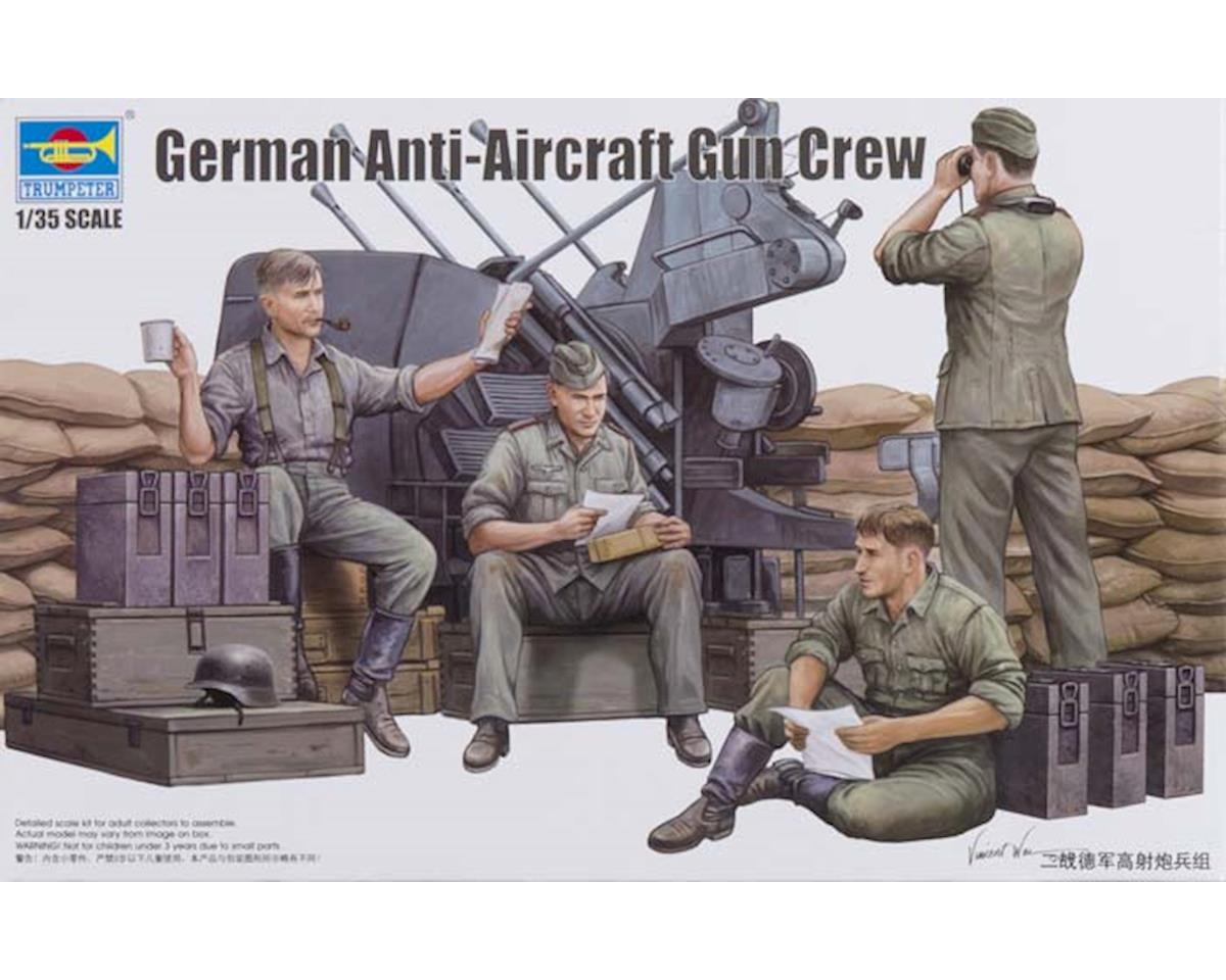 Trumpeter Scale Models 432 1/35 German Anti-aircraft Gun Crew