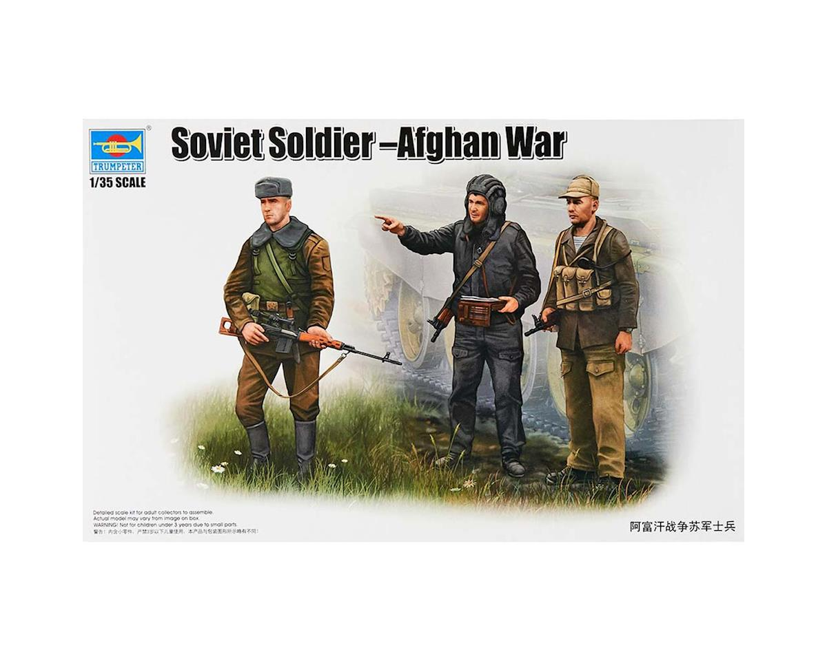 1/35 Soviet Soldiers Afghan War Figure Set (3) by Trumpeter Scale Models