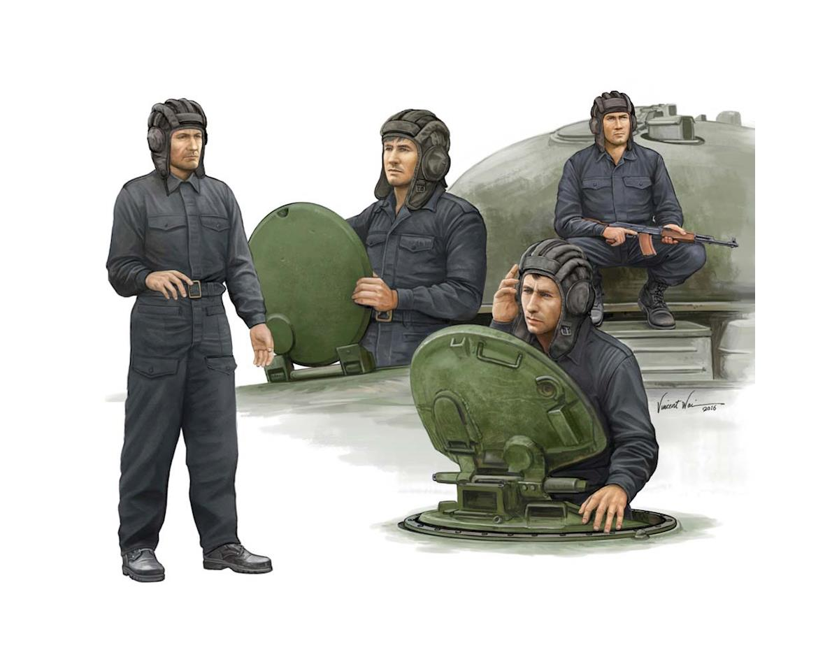 Trumpeter Scale Models 1/35 Soviet Tank Crew Figure Set (4)