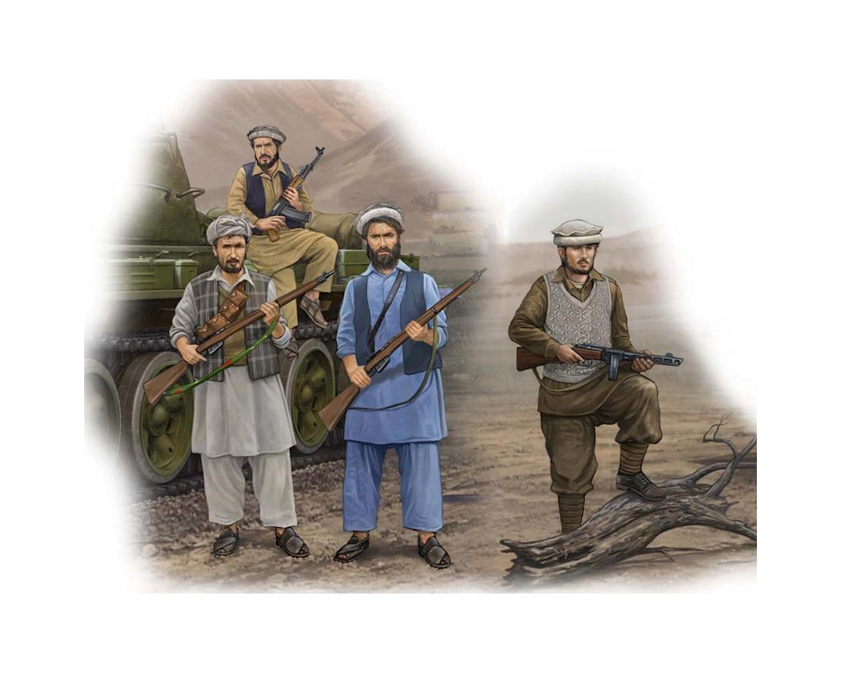 Trumpeter Scale Models 1/35 Afghan Rebels Figure Set (4)