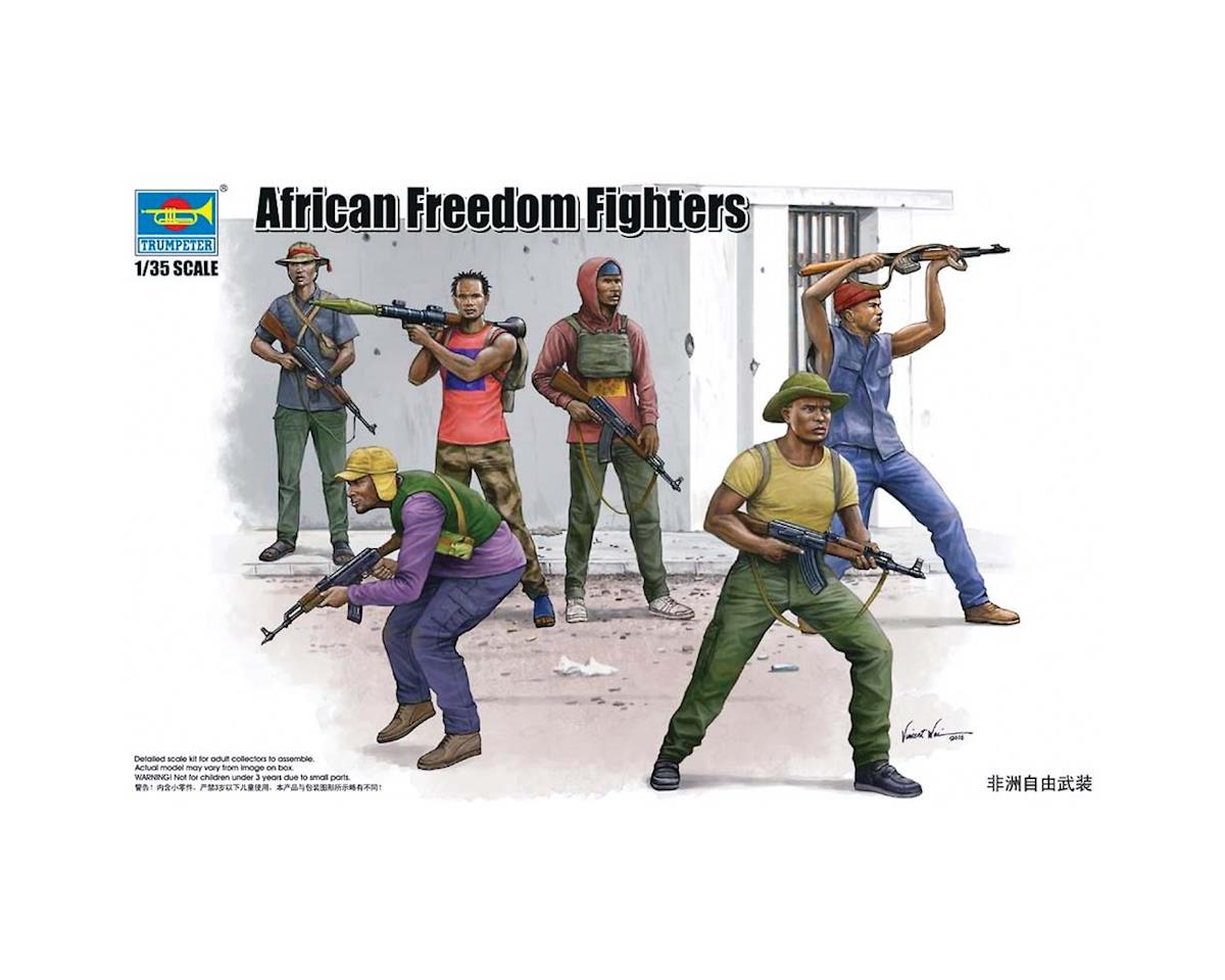 Trumpeter Scale Models 438 1/35 African Freedom Fighters Figure Set (6)