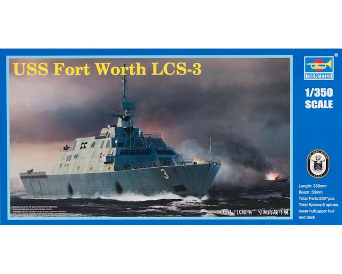Trumpeter Scale Models 4553 1/350 USS Fort Worth LCS-3 Littoral Combat Ship